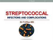 Streptococcus Infections and Complications
