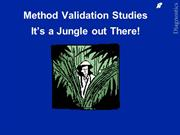 Method Validation Studies1 (1)
