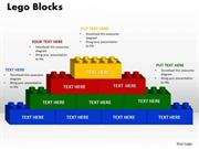 STACKED BUILDING BLOCKS PROCESS DIAGRAM 10 STAGES