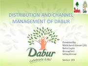 Distribution Of Dabur (DM)