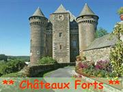 99256 Chateaux Forts de la Belle France par Auteur inconnu