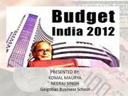 budget 2012