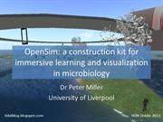 OpenSim construction kit for microbiology