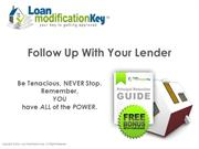LOAN MODIFICATION KEY