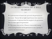 Introduction of t-bill market