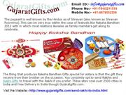 How to Send Rakhi and Gifts to India by Gujaratgifts.com