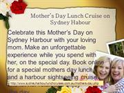 Mothers Day lunch cruise