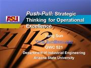 Push-Pull Production and Supply Chain Sy...