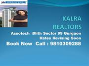 9810309288 Assotech Blith Sector 99 Gurgaon Booking