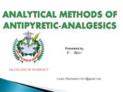 ppt on analgesic