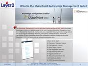 SharePoint Knowledge Management Suite: Step-By-Step