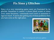 How to Fix Sims 3 Glitches