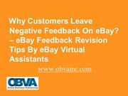 Who Else Wants To Know The Reasons Why Customers Leave Negative Feedba