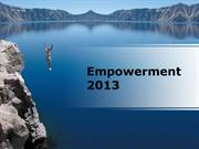 Empowerment Movie PPT Version Preview (PPT Quotes & Music)