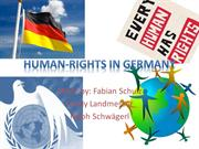 Human Rights in Germany