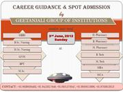 Career Guidance & Spot Admission