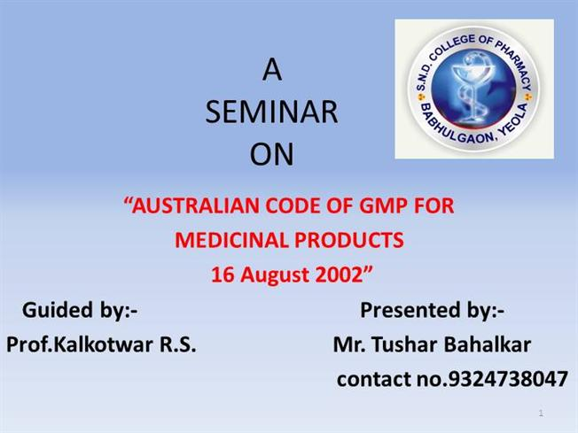 australian gmp ppttga authorstream