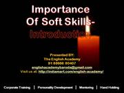 Importance of Soft Skills in Our Life