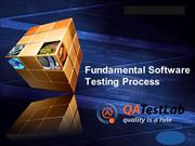 Fundamental Software Testing Process