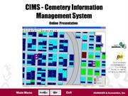 CIMS Cemetery Software Demonstration
