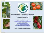 Portable Farms Aquaponics System