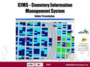 CIMS Cemetery Software Online Overview