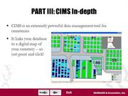CIMS Cemetery Software Online Presentation
