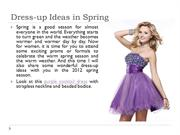Dress-up Ideas in Spring
