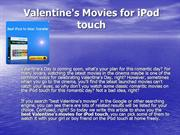 Valentine's Movies for iPod touch
