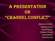 CHANNEL CONFLICT.