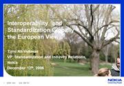 presentation_nokia_on_standards_and_interoperability