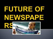 Future of newspapers