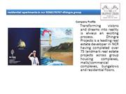 residential apartments in ncr 9266176767-dhingra group