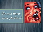 Do you know your phobias?