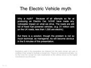 The Electric Vehicle myth
