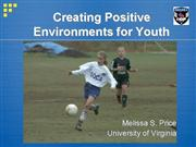 Creating Positive Environments for Youth