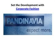 Set the Development with Corporate Fashion