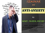 SCREENING ANTI ANXIETY