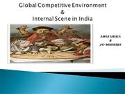 The Global Competitive Environment and the internalJAY AMAR