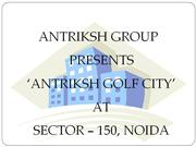 Antriksh Golf City ||9910940489|| Antriksh Golf City Noida
