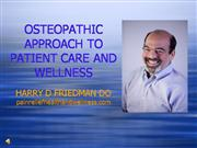 Osteoapathy Approach to Patient Care