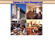 Careers - Hotel Management/ Arunesh Chand Mankotia