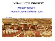 India Hotel Industry 2008