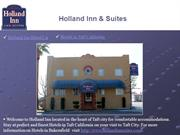 Holland Inn and Suites Hotel Taft California
