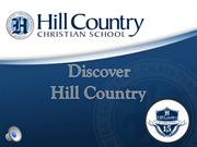 Discover the Upper School of Hill Country Christian School of Austin