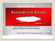 passive smoking and its hazards