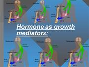 Hormone as growth mediators