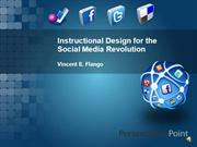 Instructional Design for the Social Media Revolution