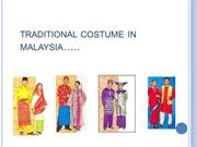 traditional costume in malaysia
