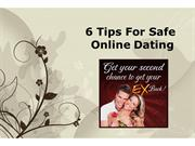 6 Tips For Safe Online Dating